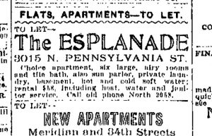 nov26 1913 ad for esplanade